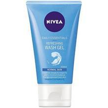 ژل پاک کننده و شاداب کننده پوست معمولي نيوآ مدل Refreshing Wash Gel حجم 150 ميلي ليتر