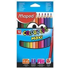 مداد رنگی 12 رنگ مپد مدل کالر پپس