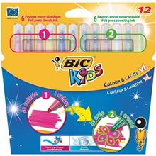 Bic Kids Colour and Create XL Marker - Pack of 12