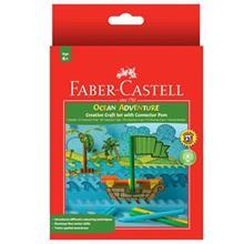 ماژيک رنگ آميزي 12 رنگ فابر کاستل مدل Ocean Adventure
