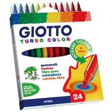 ماژيک رنگ آميزي جيوتو مدل Turbo Color 24 Colored Painting