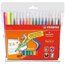 Stabilo Swano Fiber Tip 18 Colors Marker
