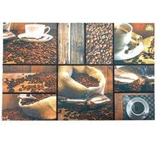 پادری نمدی چاپی مهسان مدل قهوه