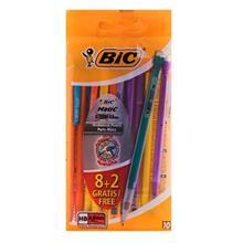 مداد نوکی بیک سری ماتیک مدل استرانگ با قطر نوشتاری 0.9 میلی متر - بسته 10 عددی