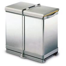 سطل زباله ریلی روماگنا پلاستیک مدل 250