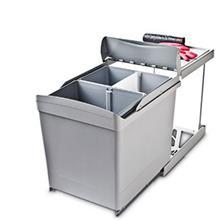 سطل زباله ریلی روماگنا پلاستیک مدل 538