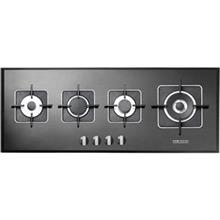 Steel Alborz Glass Hob G4101