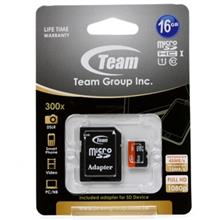 Team Group UHS-I U1 Class 10 45MBps microSDHC With Adapter - 16GB