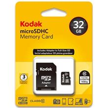 Kodak UHS-I U1 Class 10 50MBps microSDHC With Adapter - 32GB