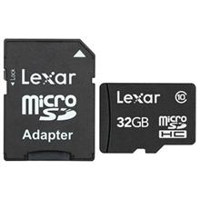 Lexar Class 10 microSDHC With Adapter - 32GB