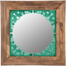آینه گالری آسوریک طرح مشبک