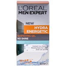 ژل آب رسان لورآل سري Men Expert مدل Hydra Energetic حجم 50 ميلي ليتر