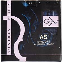 Gato AS Steel Core Chrome Viola Strings