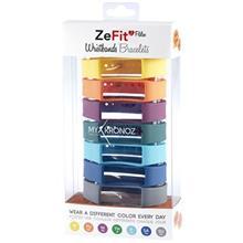 پک 7 عددی بند مچبند هوشمند مای کرونوز مدل ZeFit2 Pulse X7 Colorama