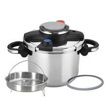 Nab Steel Delux Pressure Cooker 6 Liter With Steam Cooker