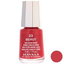 لاک ناخن ماوالا مدل Mini شماره Beirut 23