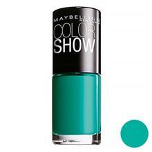لاک ناخن  ميبلين مدل Vao Color Show Urban Turquoise 120