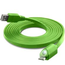 Naztech LED USB To microUSB Cable 1.8m
