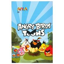 Afra 50 Sheets Angry Birds1 Design Soft Cover Notebook