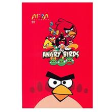 Afra 50 Sheets Painting Angry Birds 2 Design Soft Cover Notebook