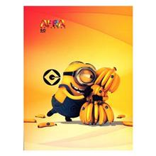 Afra 50 Sheets Despicable Me1 Design Soft Cover Notebook