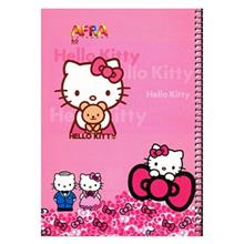 Afra Hello Kitty 50 Sheets Coiled Notebook Pack Of 5