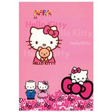 Afra 50 Sheets Hello Kitty Design Soft Cover Notebook - Pack Of 5