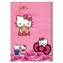 Afra 50 Sheets Hello Kitty Design Soft Cover Notebook
