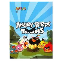 Afra Angry Birds1 80 Sheets Notebook