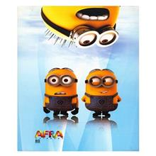 Afra Despicable Me2 80 Sheets Notebook-Pack Of 2