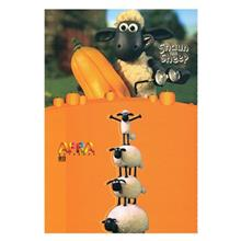 Afra 80 Sheets Shaun the Sheep Design Soft Cover Notebook