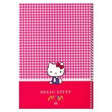دفتر  50 برگ افرا طرح Hello Kitty 2 جلد شومیز