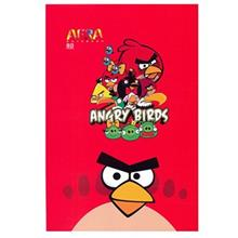 Afra Angry Birds2 80 Sheets Coiled Notebook Pack Of 2