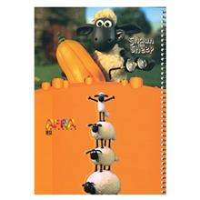 Afra Shaun the Sheep 80 Sheets Coiled Notebook Pack Of 2