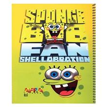 Afra Sponge Bob1 80 Sheets Coiled Notebook