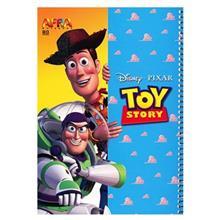 دفتر سیمی افرا 80 برگ طرح داستان اسباب بازی