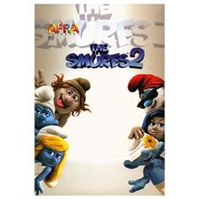 Afra 50 Sheets The Smurfs 2.1 Design Soft Cover Notebook