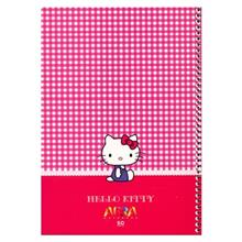 Afra Hello Kitty2 50 Sheets Coiled Drawing Notebook Pack Of 5