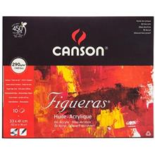 Canson Warm Colors Design 10 Sheets Painting Notebook