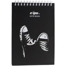 دفتر یادداشت 100 برگ کلیپس مدل آل استار