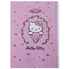 Clips 80 Sheets Hello Kitty 1 Design Soft Cover Notebook