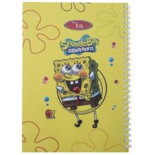 Clips 80 Sheets Spongebob 2 Design Soft Cover Notebook