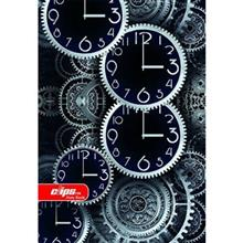 Clips Clock Design Homework Notebook
