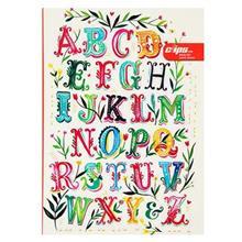 دفتر زبان 50 برگ کليپس طرح E جلد شوميز