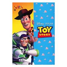 Afra 50 Sheets Toy Story Drawing Notebook Pack Of 5