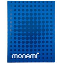 Monami 100 sheets 1 Design Harf Cover Notebook