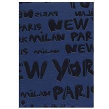 دفترچه یادداشت جیبی طرح Paris Milan کد 17100