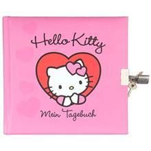 دفتر خاطرات سانریو طرح Hello Kitty جلد سخت