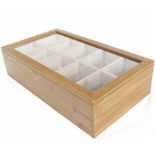 جعبه چاي کيسه اي بامبوم مدل Bonte