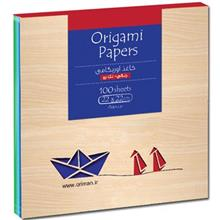 Origami Oriman One Side Colored Origami Paper Size Larg